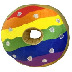 Pride Donut by Lulubelles Power Plush