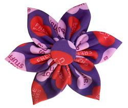 Convo Hearts Pinwheel by Huxley & Kent