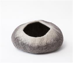 Wool Pet Cave, Ombre, Natural