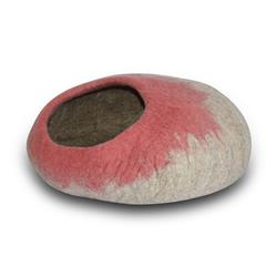 Wool Pet Cave, Ombre, Rose