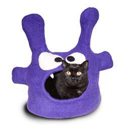 Wool Pet Cave, Monster, Purple