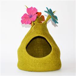 Wool Pet Cave, Bouquet, Multi Color