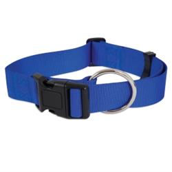 Petmate® Adjustable Dog Collar Blue