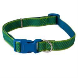 Petmate® Green Grid Max Glow® Adjustable Dog Collar
