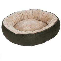 Aspen Pet® Round Quilted Lounger