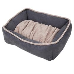 Aspen Pet® Shearling Lounger with Dig N Burrow®