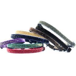 Starlight Glitter Velvet Cat Collar — Breakaway Buckle