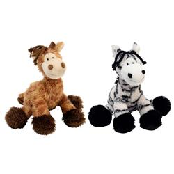 Multipet Pet Envy Mane Event Dog Toy Assorted 11 inches
