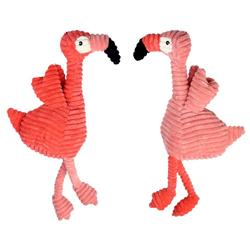 Flamingos Dog Toy Assorted 17 inches