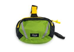 Blue Double Doodie Bag - Green