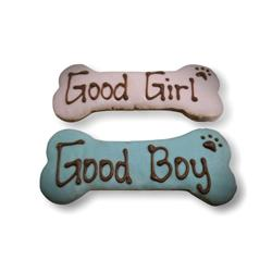 Good Boy/Girl Bone Treats - Tray of 10