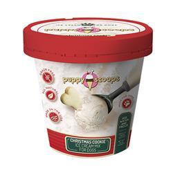 Puppy Scoops Ice Cream Mix - Christmas Cookie 4.65 oz