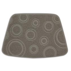 Petmate® tufted Litter Catcher Mat With Circles Design