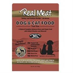 Air Dried 90% Meat Turkey & Venison Dog & Cat Food - 5oz Trial Size