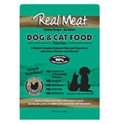Air Dried 90% Meat Turkey Dog & Cat Food - 5oz Trial Size