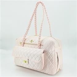 Porsha Dog Carrier: Blush