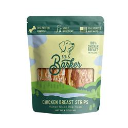 Chicken Breast Strips Dog Treats, 4oz. Bags