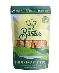Chicken Breast Strips Dog Treats, 10oz. Bags