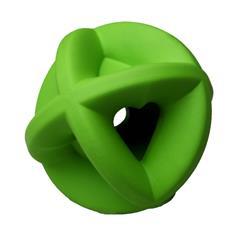 "Bounderz - Green - 3.5"" - Insert Treats to Bust Boredom"