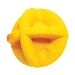 "Bounderz - Floating Yellow - 3.5"" - Insert Treats to Bust Boredom"