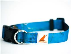 Realtree® Adjustable Dog Collar Surf Blue