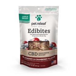 Edibites Crunchy Beneficial Supplements by Pet Releaf