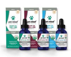 Organic CBD Hemp Oils by Pet Releaf