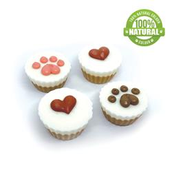 Peanut Butter Flavoured Treat Cups, 48/Case, You had me at WOOF! MSRP $1.49
