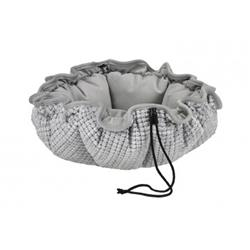 Glacier Performance Chenille Buttercup Bed with Granite Inside, Trim