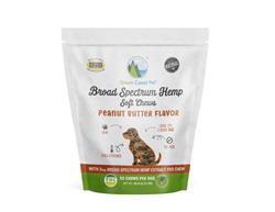 Hemp Soft Chews for Dogs Peanut Butter Flavor by Green Coast Pet