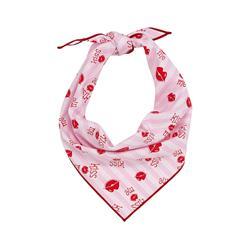 Valentine Bandana   Valentines Day Bandana   Kiss Me Lips, Red, Pink Bandana