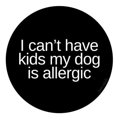 I Can't Have Kids Vinyl Sticker