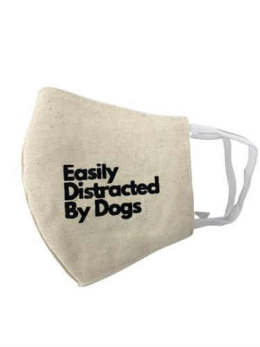 Easily Distracted Reusable Cotton Face Mask