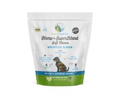Hemp+SuperBlend Whitefish Chews 3.17 oz by Green Coast Pet