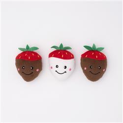 ZP757 Valentine's 3-Pack - Chocolate Covered Strawberries