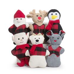 Fireside Collection Plush Holiday Cookies 12 Piece Shelf Ready Display