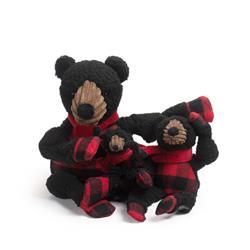 Fireside Collection Black Bear Knottie