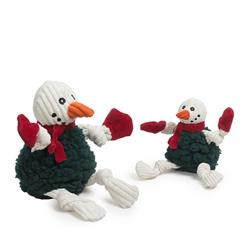 Holiday HuggleFleece FlufferKnottie, Snowman