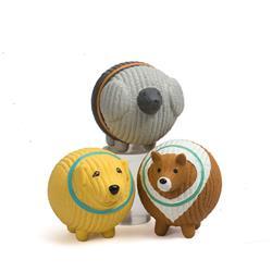 Ruff-Tex Assorted Mutt Balls (3 pack), Large (Bridget, Fancy & Lassie)