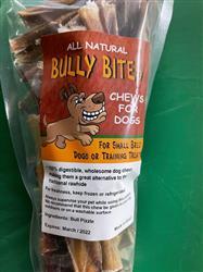 1 Pound Bully Bites Zip Lock Bag and Peg Hole