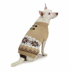Casual Canine Sophisticated Snowflake Sweater