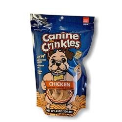 Canine Crinkles, Chicken, 8 oz SURP