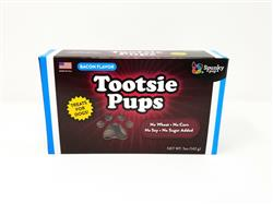 Tootsie Pups Dog Treats, Bacon Flavor, 5 oz