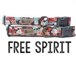 Free Spirit – Organic Cotton Collars & Leashes