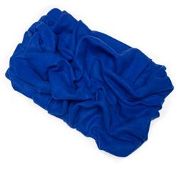 Royal Blue Solid Fleece Fabric Blanket Pet Bed