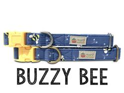 Buzzy Bee – Organic Cotton Collars & Leashes