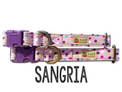 Sangria – Organic Cotton Collars & Leashes