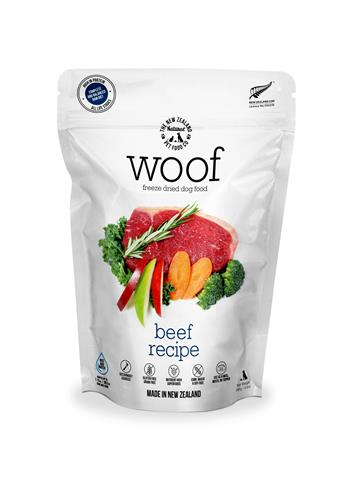 Woof Freeze Dried Dog Food by The New Zealand Pet Food