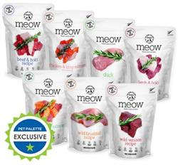 Meow Freeze Dried Cat Food by The New Zealand Pet Food