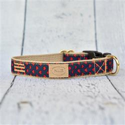 Red Hearts Collar, Leads & Harness